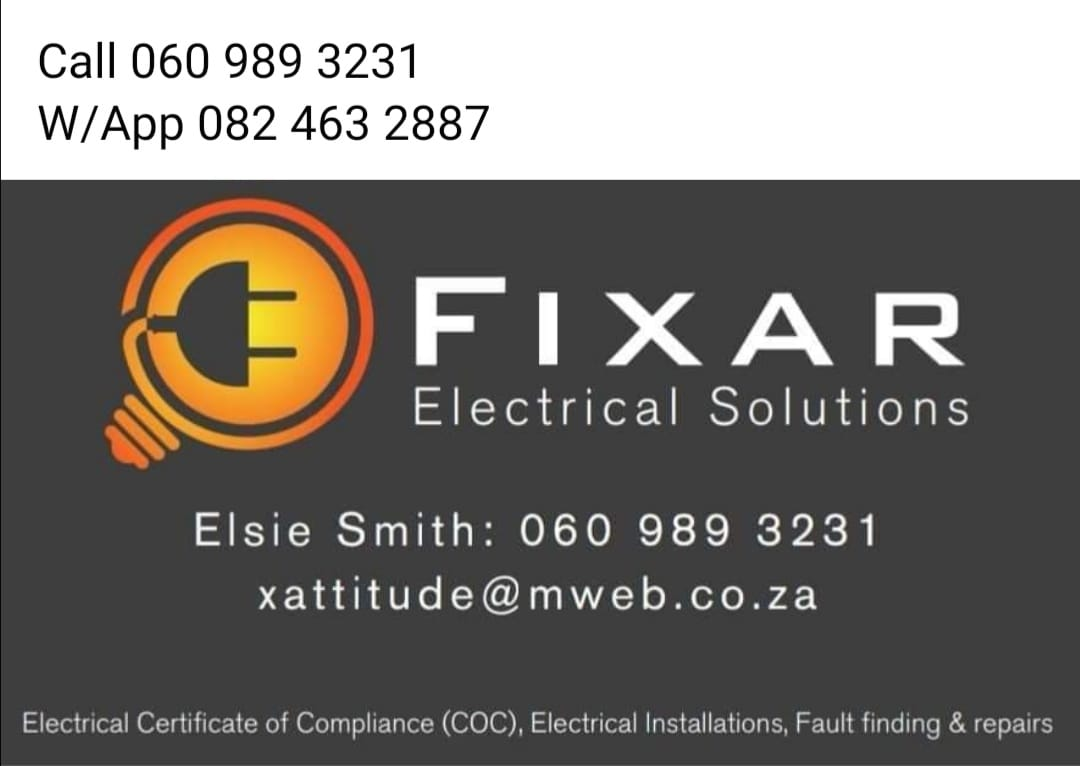FIXAR ELECTRICAL SOLUTIONS