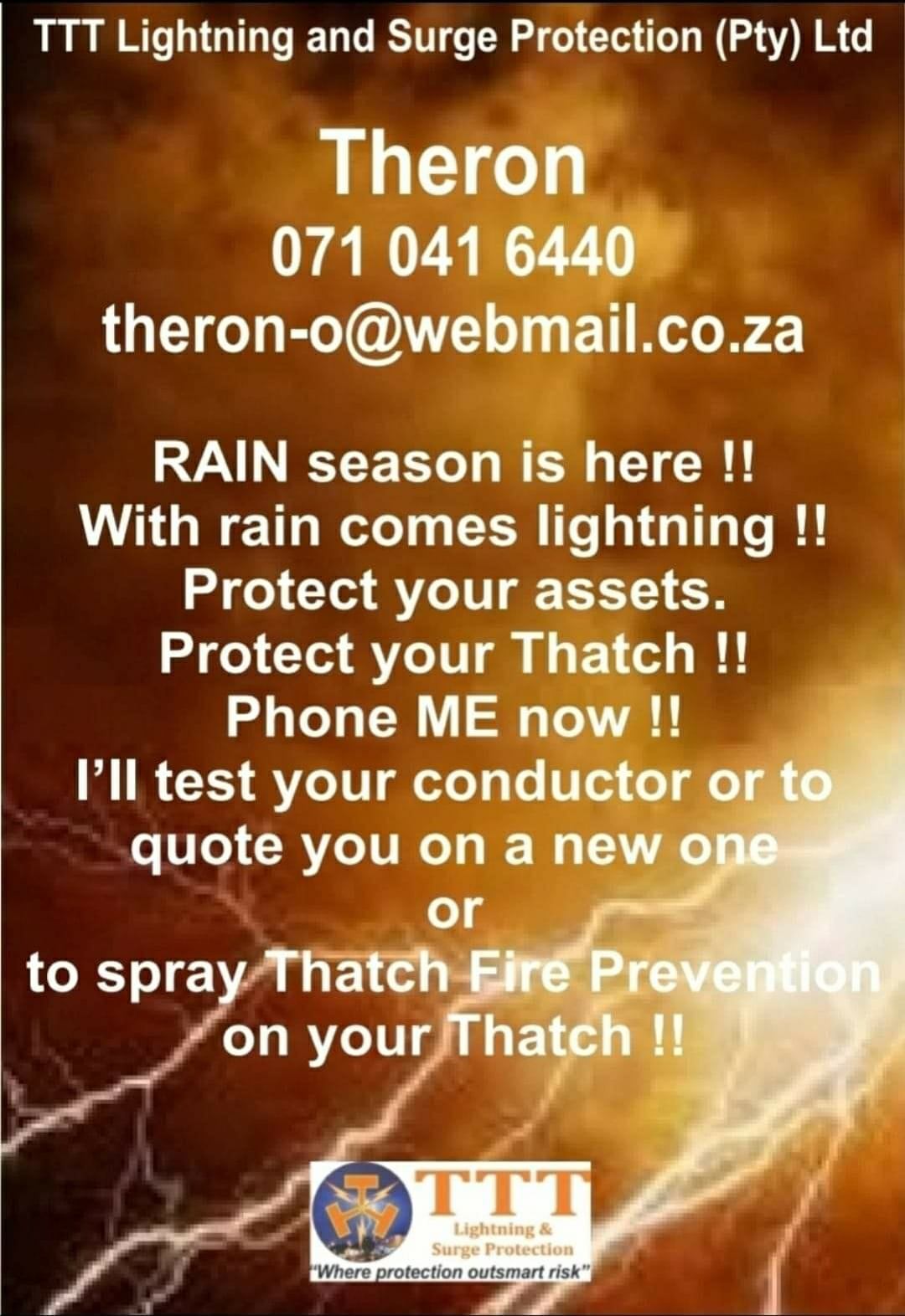 TTT Lightning & Surge Protection