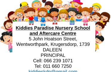 Kiddies Paradise Nursery School and Aftercare Centre Wentworthpark