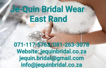Je-quin Bridal Wear East Rand