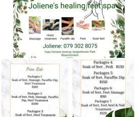 Joliene's Healing Feet Spa