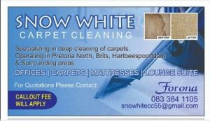 Snow White Carpet Cleaning
